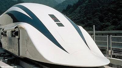 Kereta Levitasi Tercepat di Dunia
