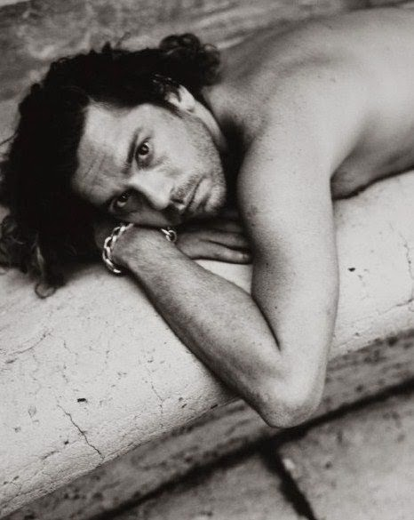 Half-naked Hutchy