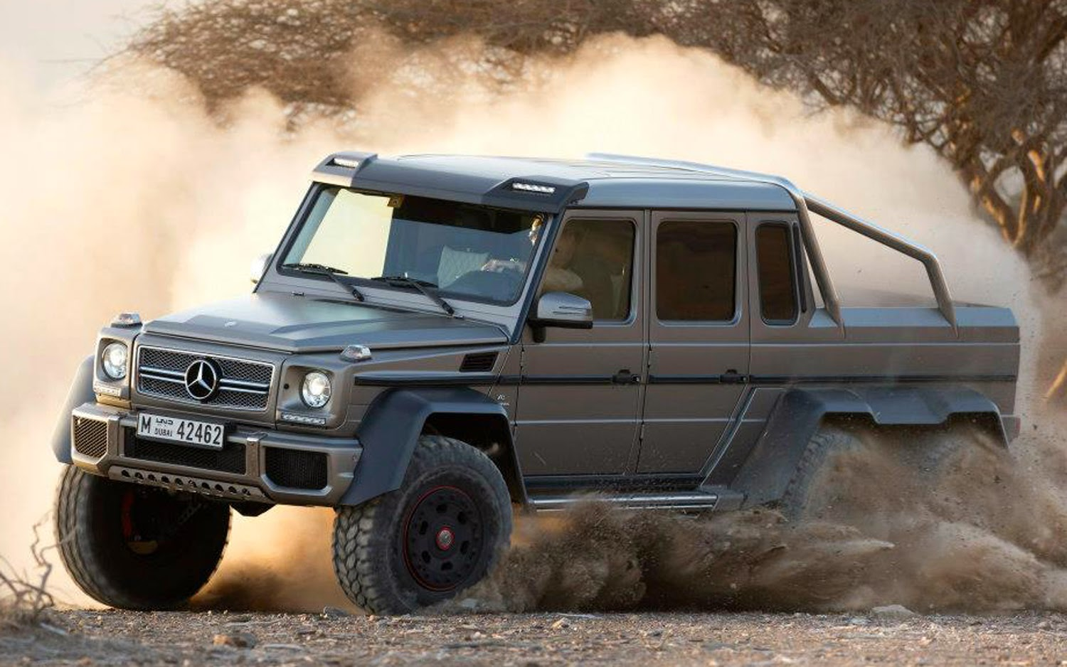Mercedes Benz G Class 6x6 Car Information News