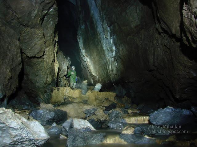 пещера грез река