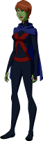 Miss Martian em Young Justice: Invasion