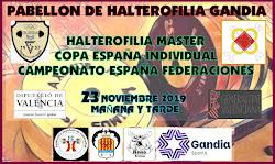 IV Copa de España de Halterofilia IV Campeonato de España por Federaciones: