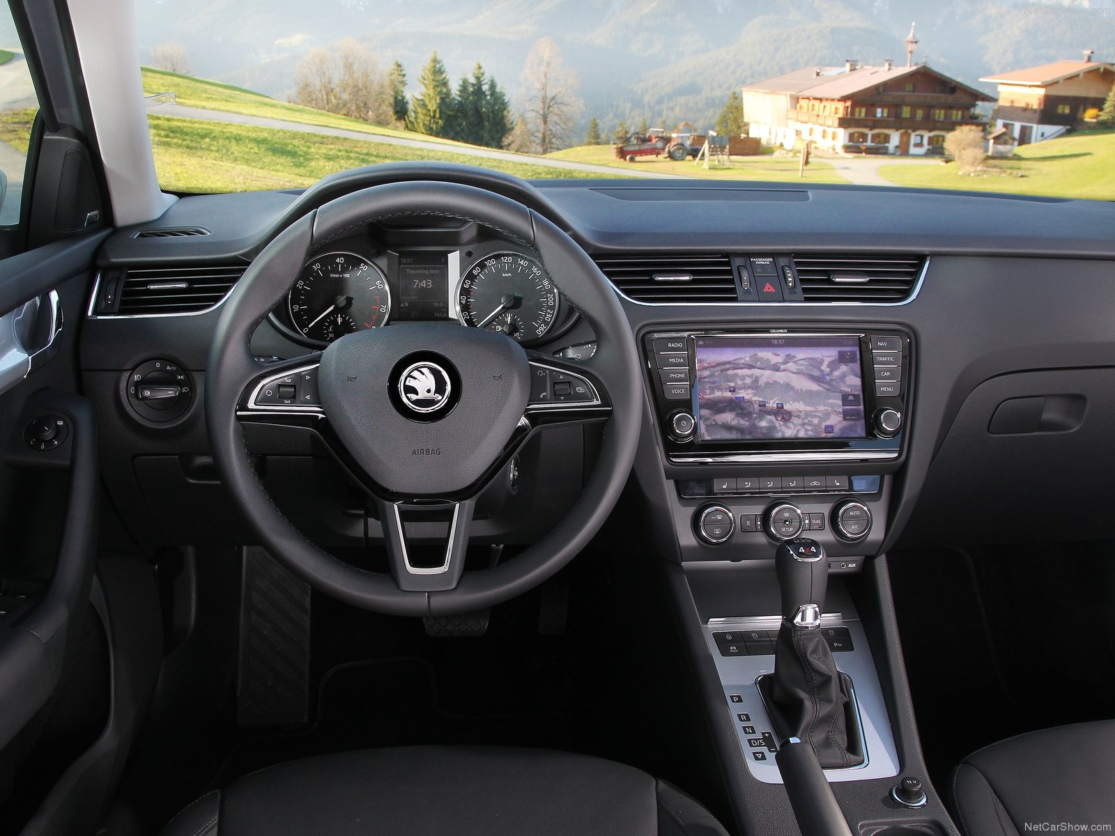 2014 skoda octavia combi review spec release date picture for Skoda octavia interior