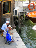 Angler am Canal Grande © 2014 by Gunther H.G. Geick