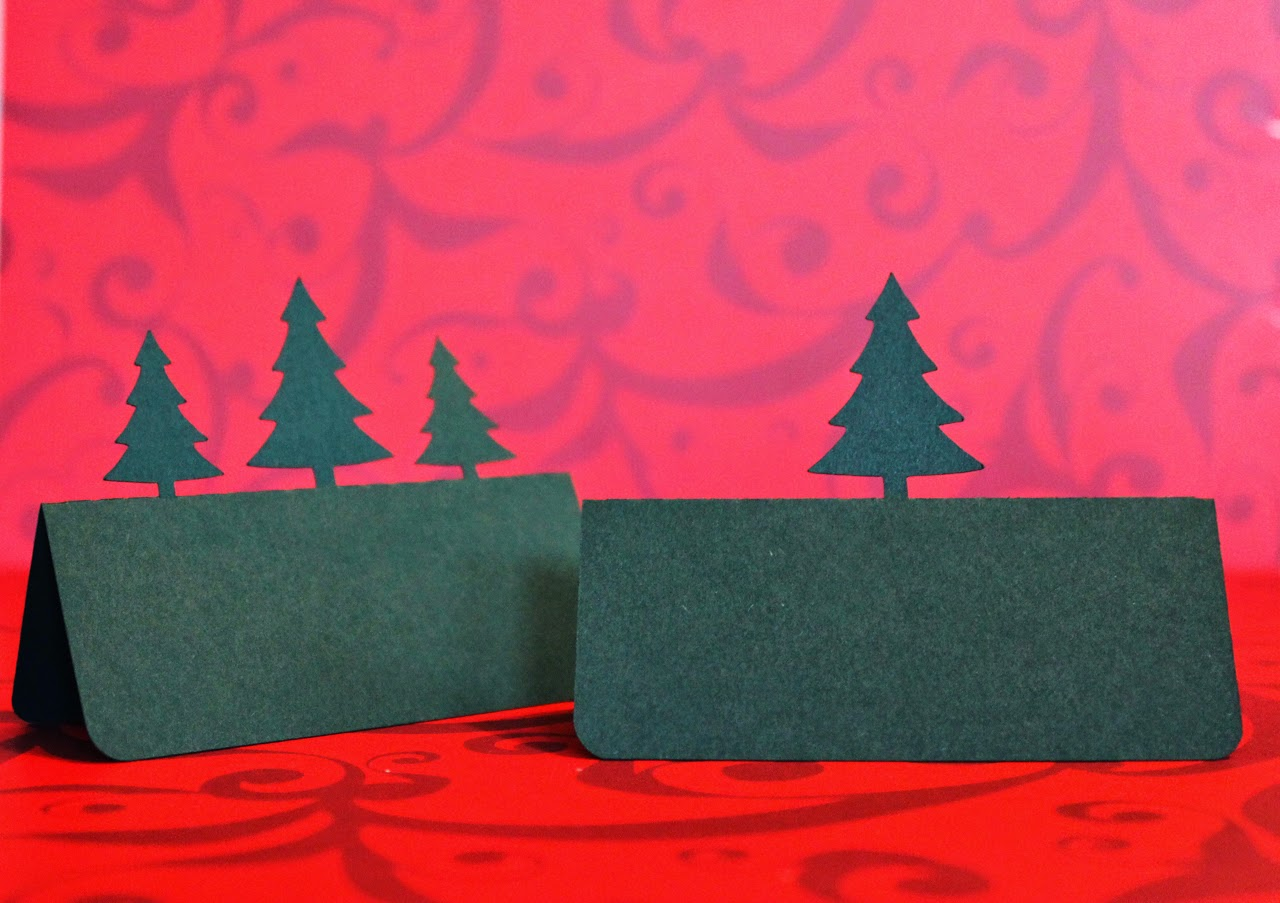 http://www.tiffzippy.com/pine-tree-place-cards/