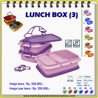 Lunch Box Tulipware 2013