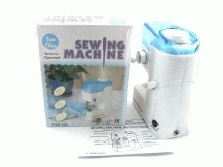 mini sewing machine ( mesin jahit mini portable elektrik )