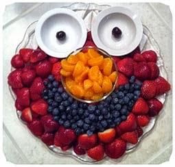 Dicas para ceia de Natal simples com frutas