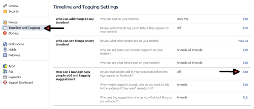How to Stop Tagging on Facebook Timeline Permanently