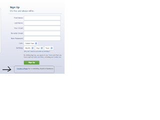 how to make a facebook page  for blog or website
