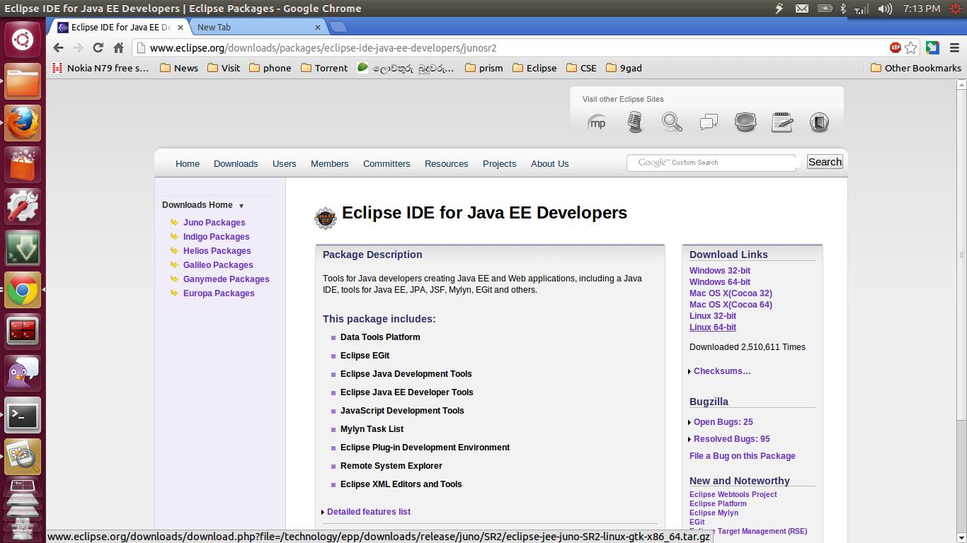 descargar eclipse ide for java ee developers gratis
