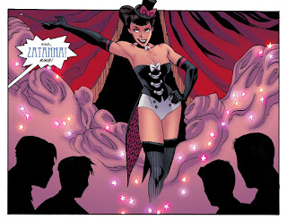 Page 9 from DC Comics Bombshells #6 featuring Zatanna