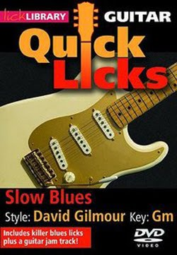 Lick Library Quick Licks David Gilmour (2011)