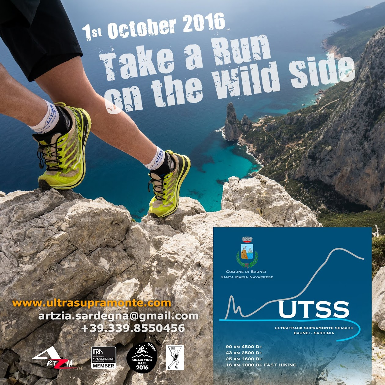 UTSS Ultra Track Supramonte Seaside