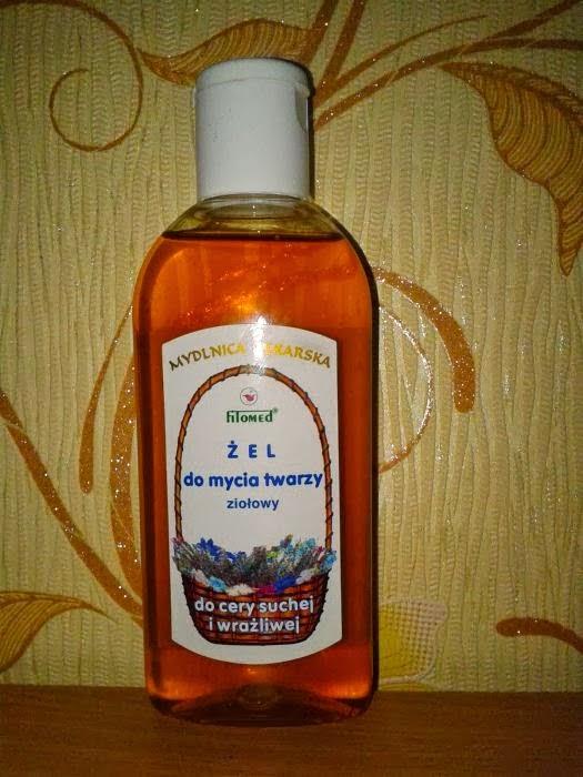 Fitomed - żel do mycia twarzy dla cery suchej i wrażliwej