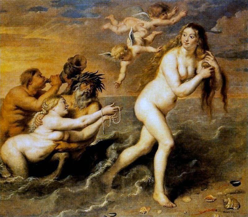 Mes Images La Naissance De Venus Tableau