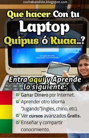 Con la Quipus u otras Computadoras