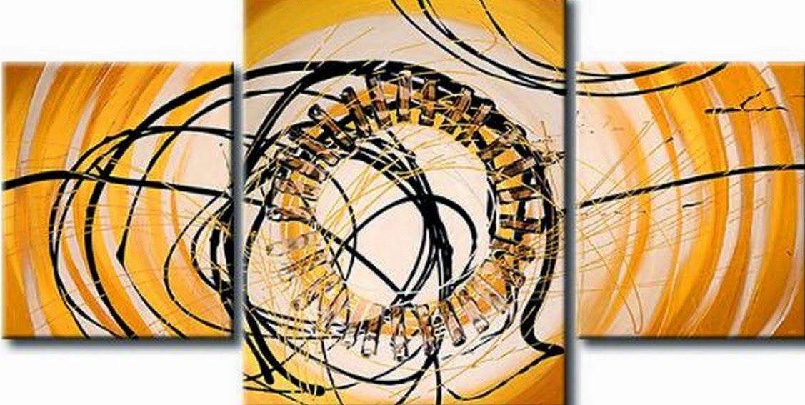 pinturas-modernas-de-cuadros-tripticos