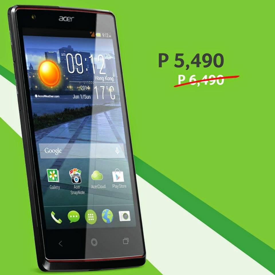 Acer Liquid E3 Dual SIM, Acer Philippines Smartphones