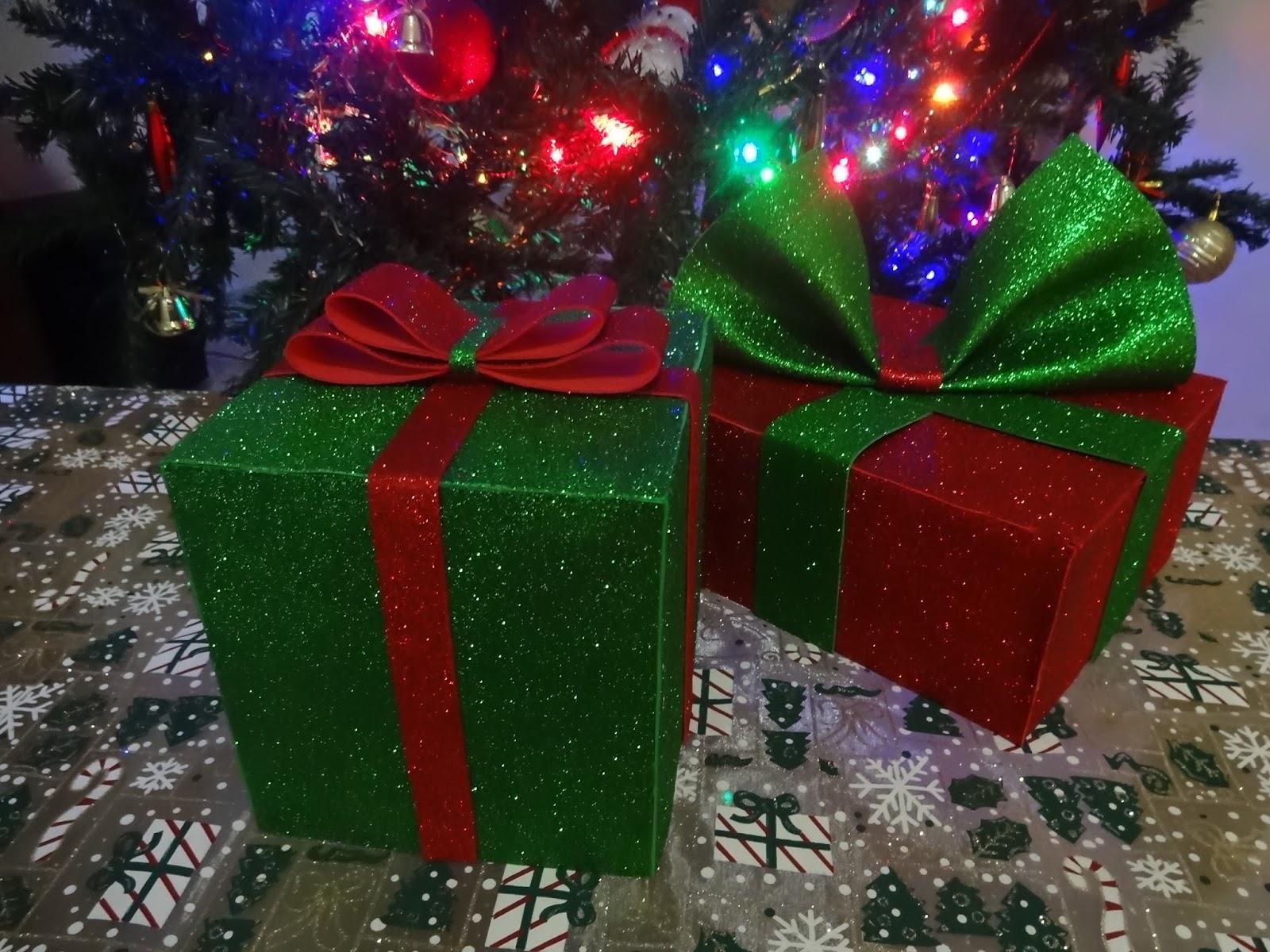 Diy Caixas De Presente Decorativas De Natal Diy Criativa