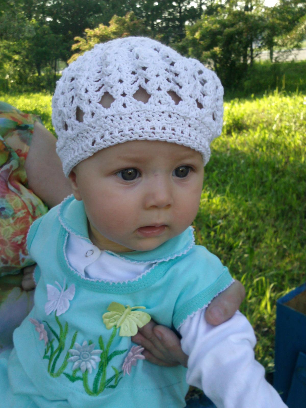 Вязание и фото детских шапок