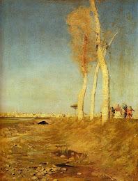 Los alamos de Nittis Giuseppe. 1846-1884