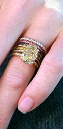Stackable Wedding Bands 83 Superb Rebecca Romijn us stacked