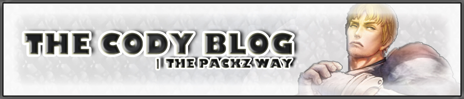The Cody Blog |The Packz Way