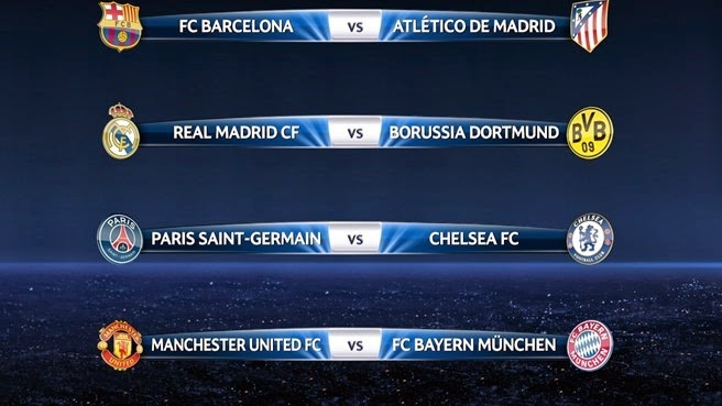 UEFA Champion League - QuaterFinal