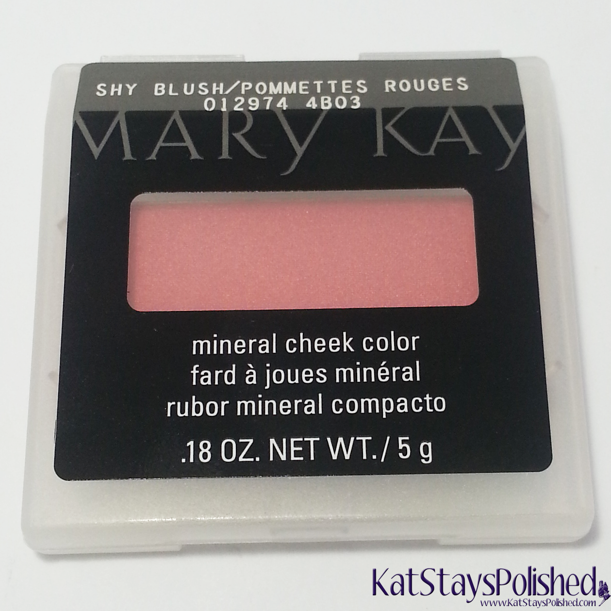 Influenster Mary Kay VoxBox - Mineral Cheek Powder Blush  | Kat Stays Polished