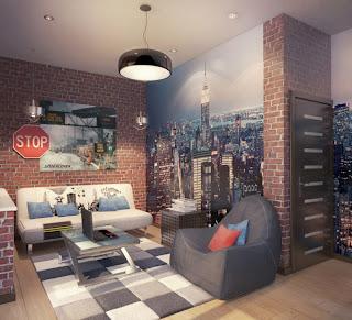 interior+kamar+tidur+remaja Ide Kreatif Kamar Tidur Remaja