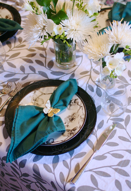 StyleAndPepperBlog.com : : DIY // Drawer Pull Napkin Rings