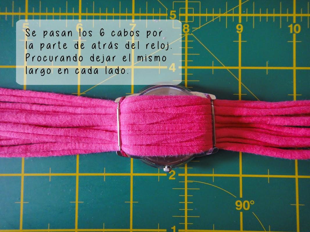 DIY- Correa de reloj - Paso 2