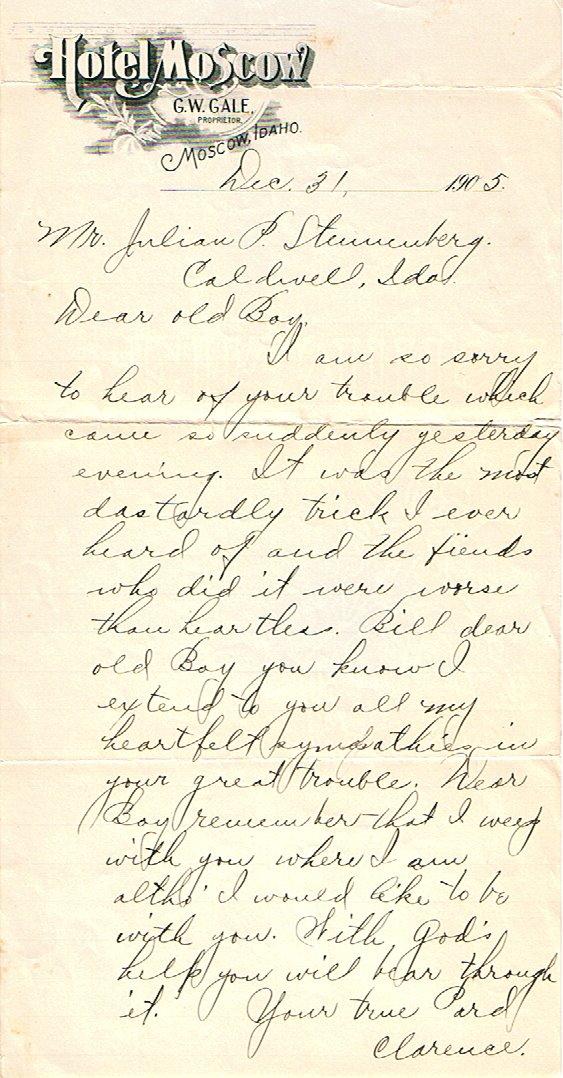 http://steunenberg.blogspot.com/2008/11/december-31-1905-letter-of-condolence.html
