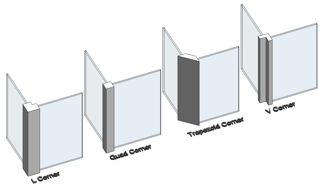 Curtain Wall Mullion Types