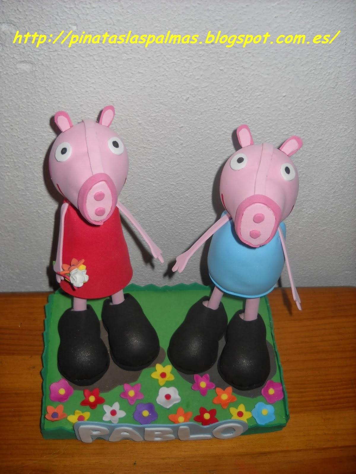 Piñatas Las Palmas: Fofucha de Peppa Pig