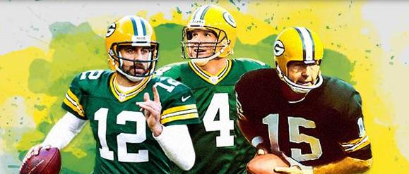 Packers Star Rodgers Favre Starr