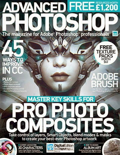 Advanced Photoshop Magazine Issue 131 2015