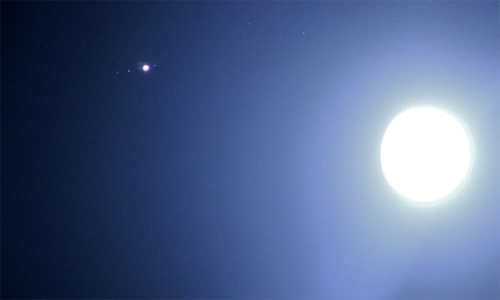 luna con jupiter 