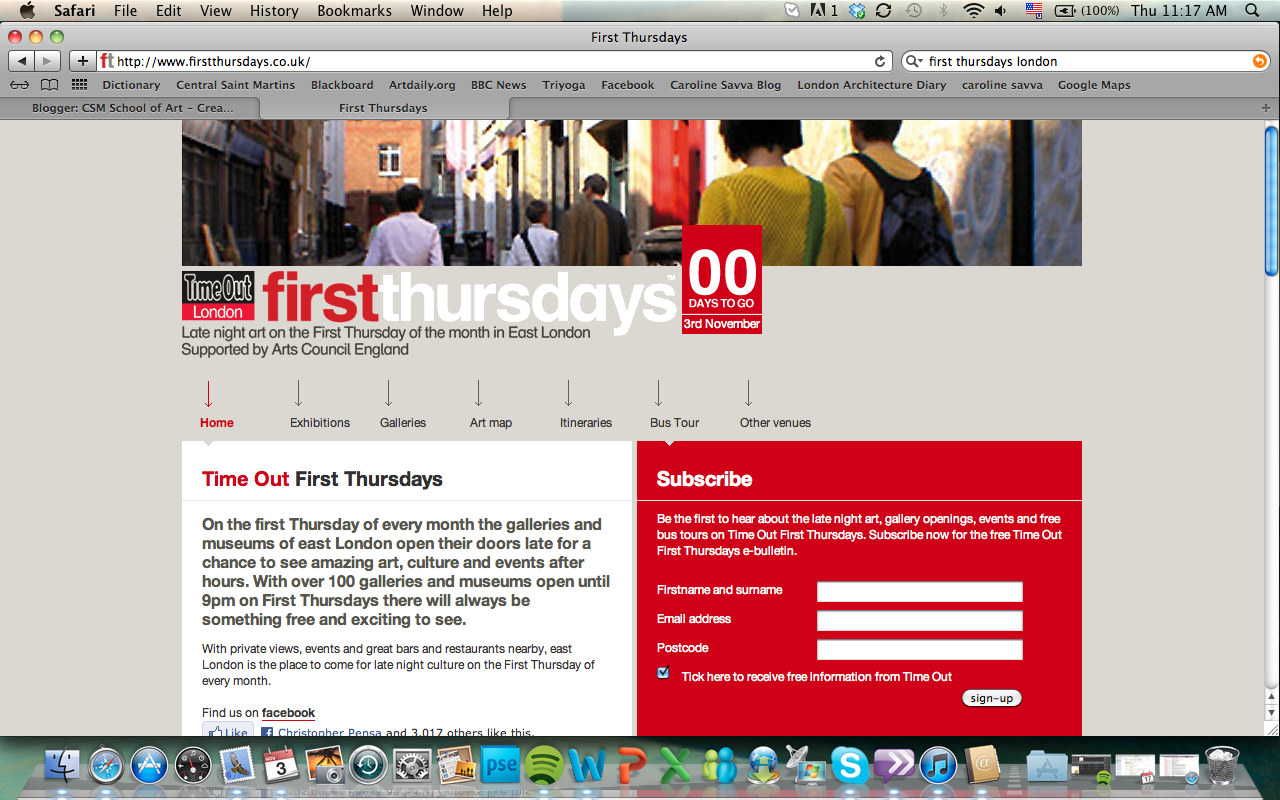 today is time out first thursdays