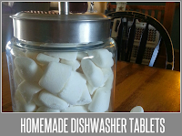 How to make your own dishwasher tablets