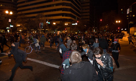 Occupy Oakland Thousands gather for general strike latimes