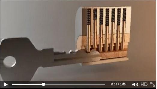 كيف يعمل المفتاح - ستعيد الفيديو اكثر من مرة وتحدي :)