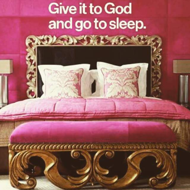 Cast all your Cares upon Him...