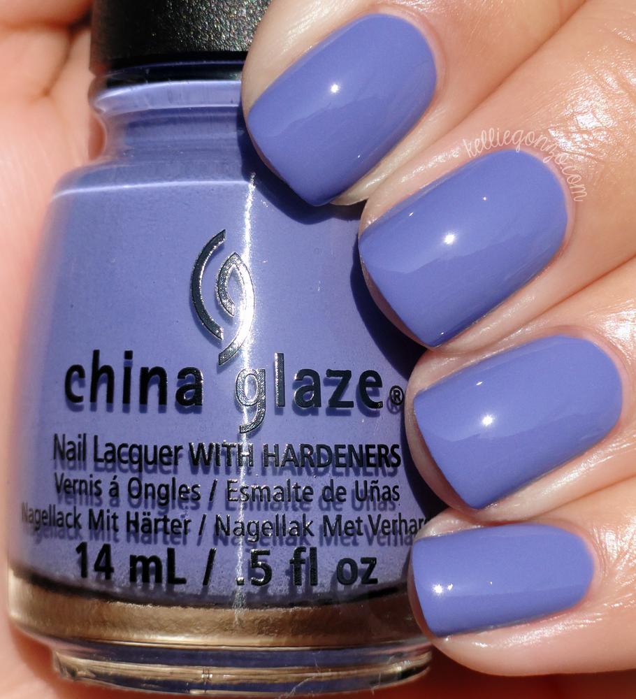 kelliegonzo: China Glaze - What a Pansy