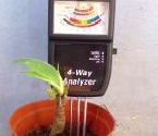 Soil 3 Way Analog Meter (Alat Ukur PH/Moist/Light)