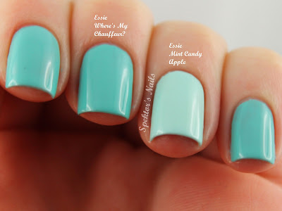 Essie - Where's My Chauffeur? Mint Candy Apple