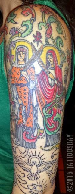 Tattoosday a tattoo blog tina illuminated for Magic cobra tattoo