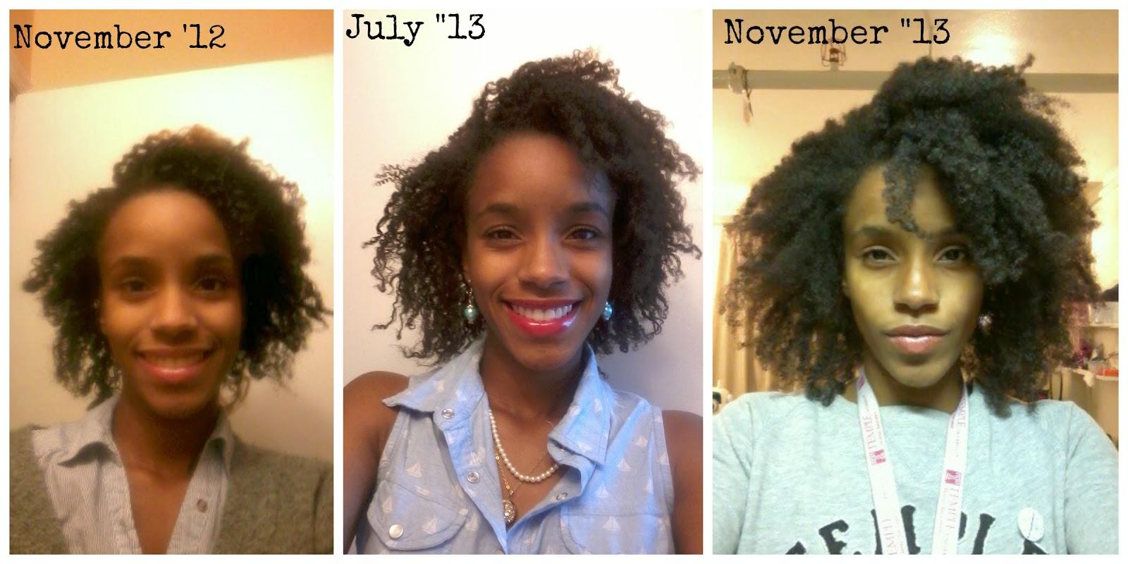 Deporian 1 Year Natural Hair Growth