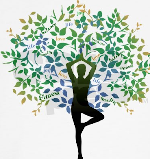 Yoga Tree Pose Tattoo